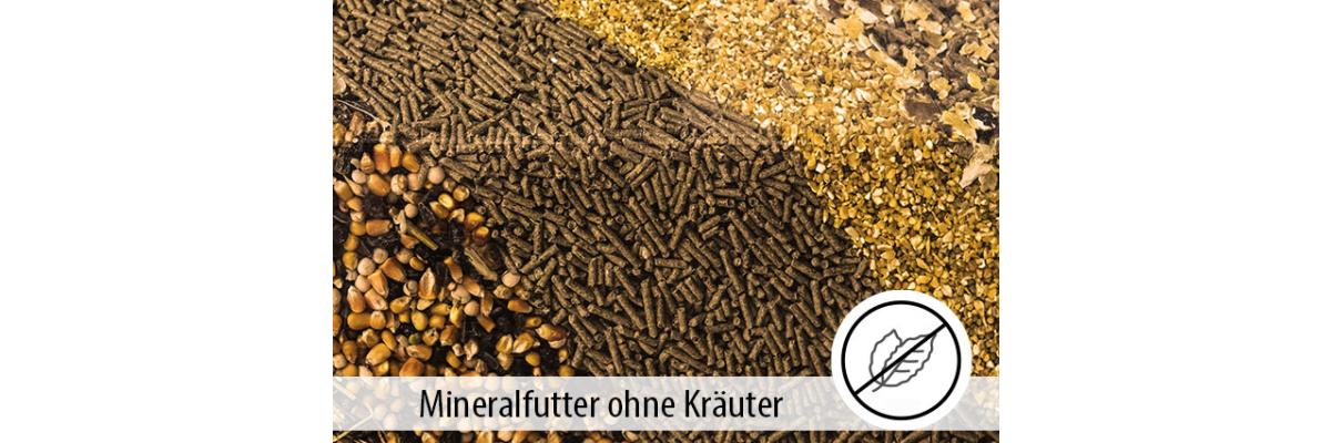 MINERALFUTTER - kräuterfrei - Der Einsatz von Kräutern im Mineralfutter - MIGOCKI Tierernährung