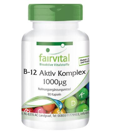 Produkt Vitamin B-12 Menschen Kapseln