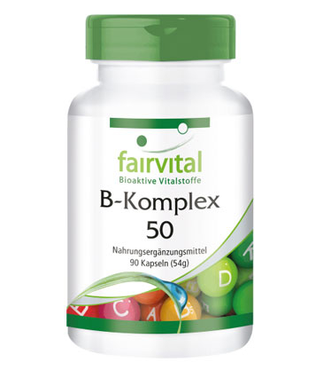 Produkt B-Komplex Kapseln Menschen