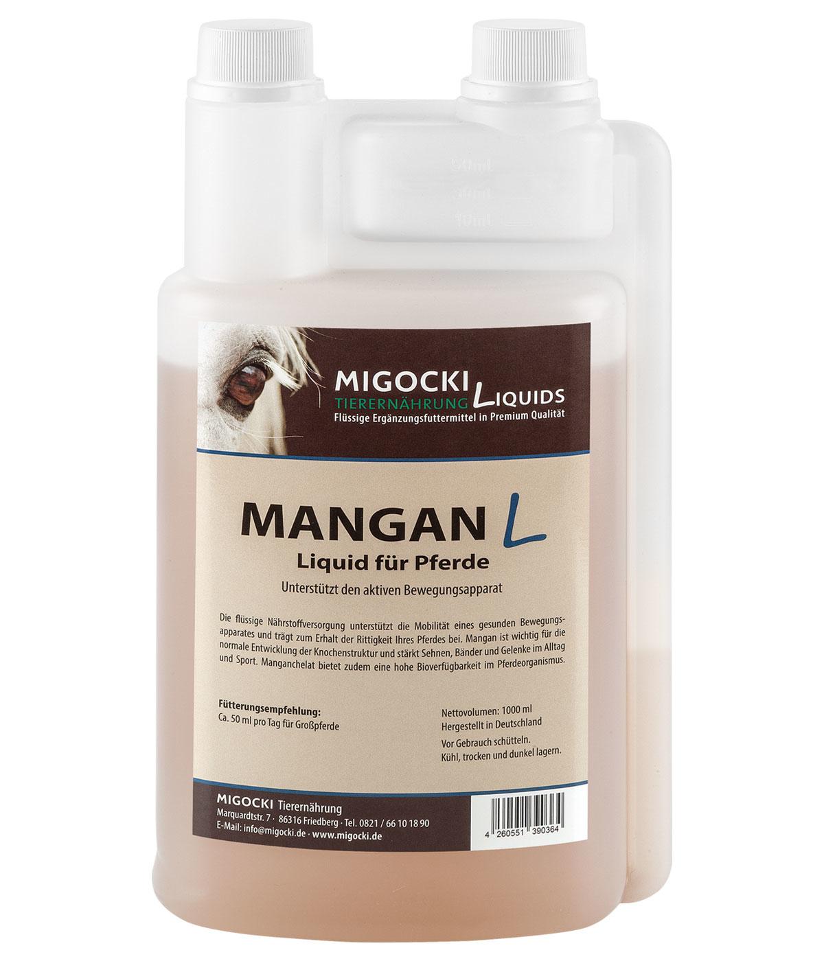 Produkt Mangan für Pferde flüssig