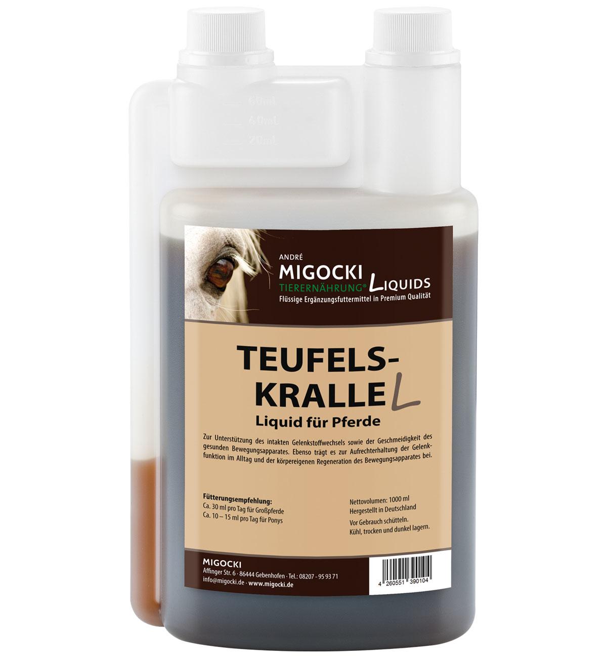 Produkt Teufelskralle Pferdefutter flüssig