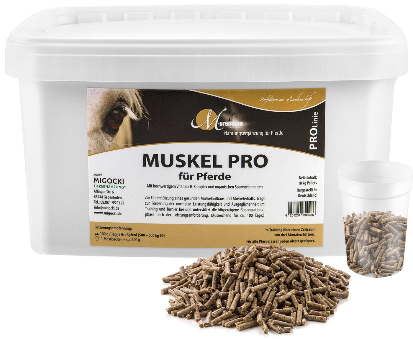 Produkt Muskel Pro Pferdefutter pelletiert