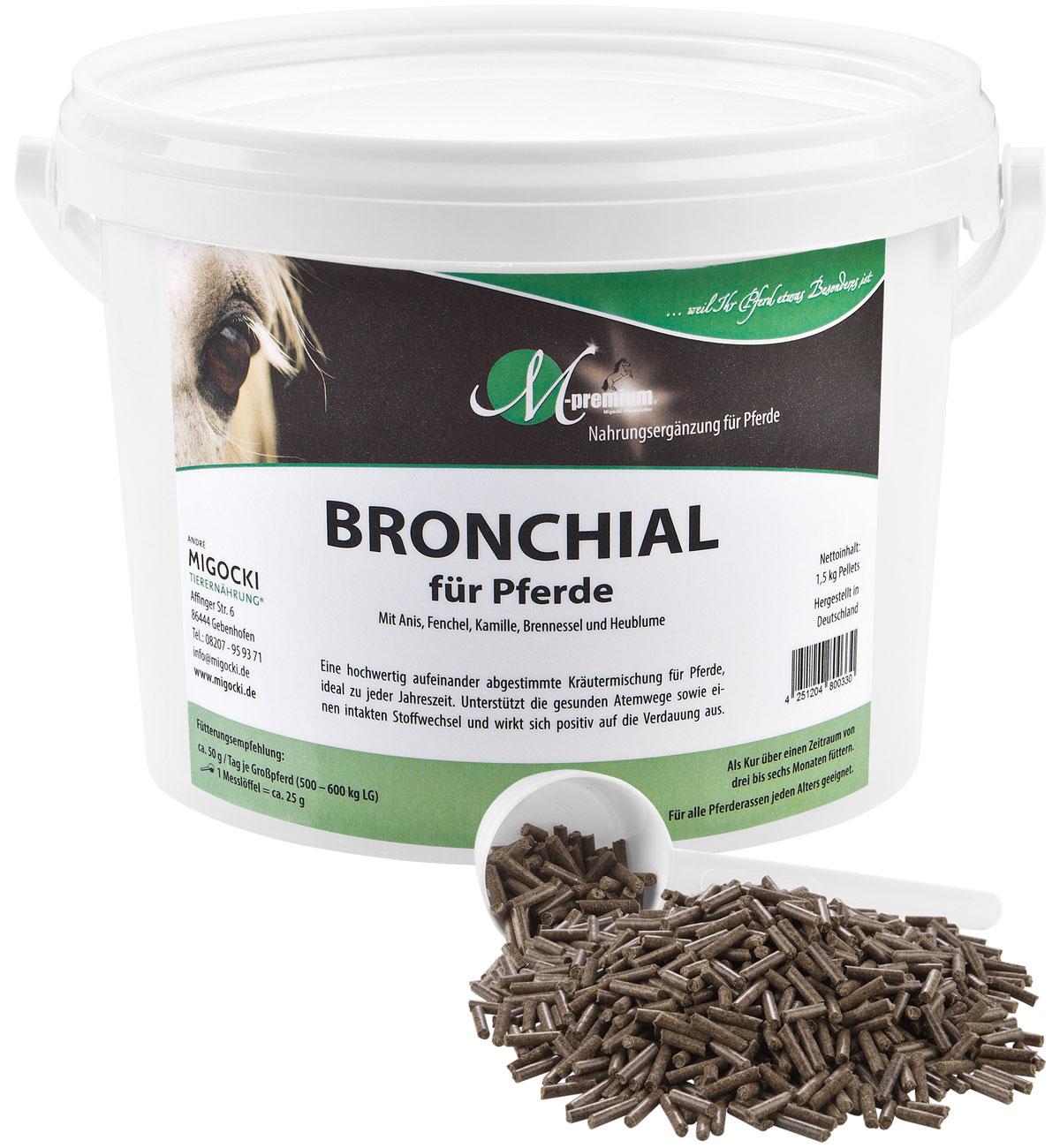 Produkt Bronchial Kräutermischung Pferde pelletiert