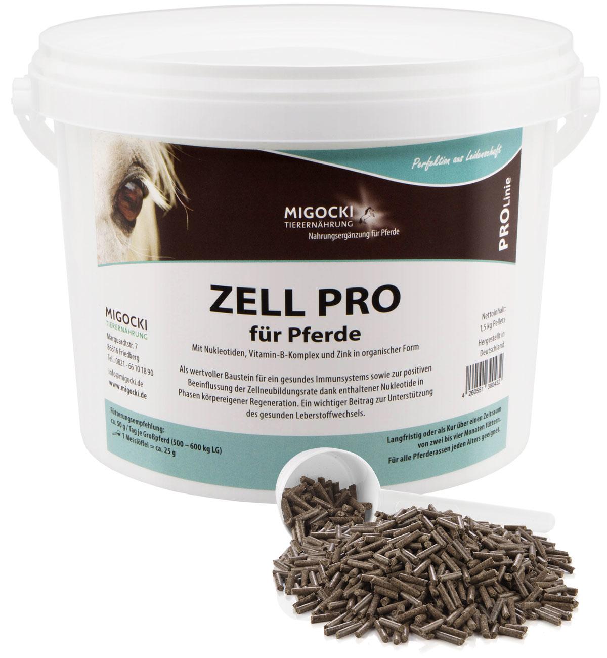 Produkt Zell Pro Nukleotide Pferdefutter