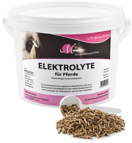 Produkt Elektrolyte für Pferde pelletiert