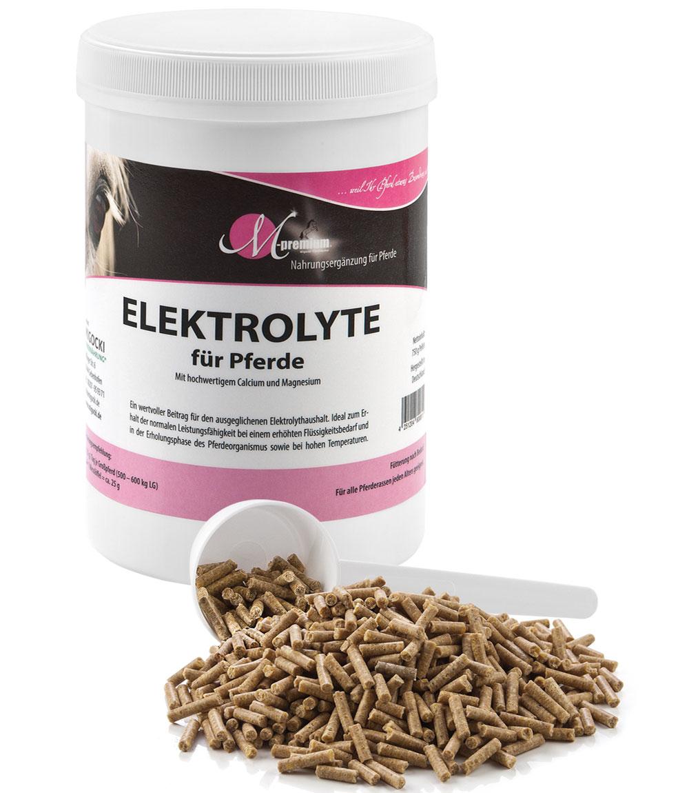 Elektrolyte für Pferde pelletiert