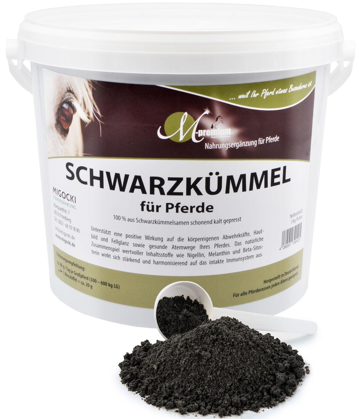 Produkt Schwarzkümmel Press-Kuchen für Pferde