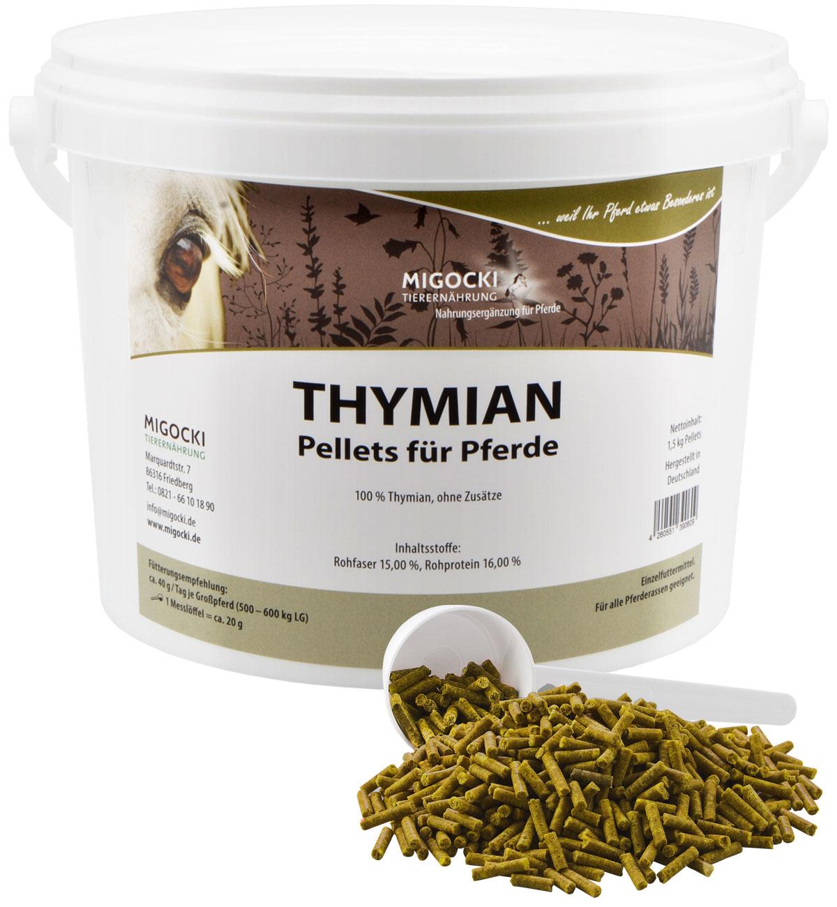 Produkt Thymian für Pferde pelletiert