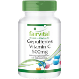 Vitamin C (gepuffert) 500 mg - 100 Tabletten für Sie...