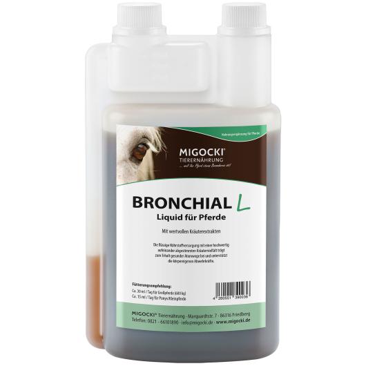 BRONCHIAL Liquid für Pferde - Atemwegskräuter 1000 ml