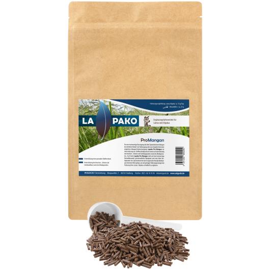 Lapako PRO MANGAN für Alpakas/Lamas - Sehnen, Bänder und Gelenke 1,5 kg