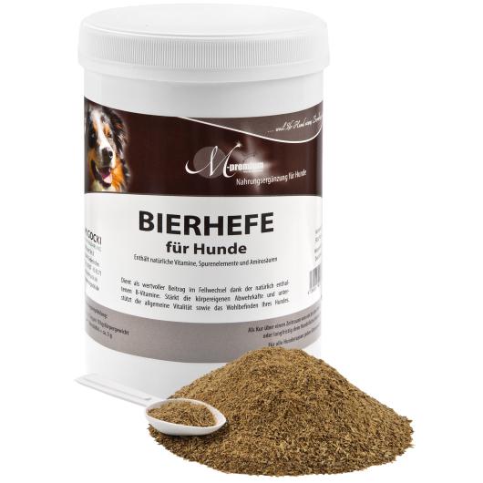 BIERHEFE für Hunde - Fellglanz & Verdauung (Pulver) 500 g