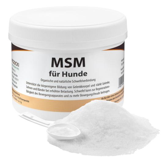 MSM für Hunde - Mobilität der Gelenke 350 g