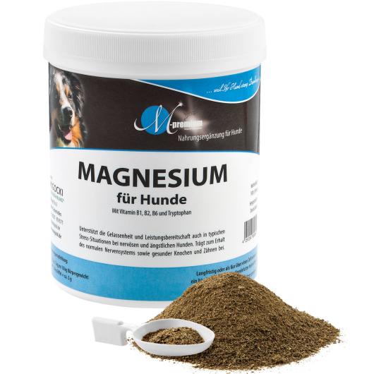 MAGNESIUM für Hunde - Nervenstärke & Gelassenheit