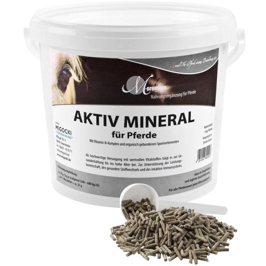 AKTIV MINERAL KLASSIK Hochwertiges Mineralfutter für Pferde
