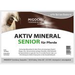 AKTIV MINERAL SENIOR Hochwertiges Mineralfutter für ältere Pferde 4 kg Eimer