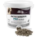AKTIV MINERAL PRO Mineralfutter für Pferde organisch, getreidefrei 4 kg Eimer