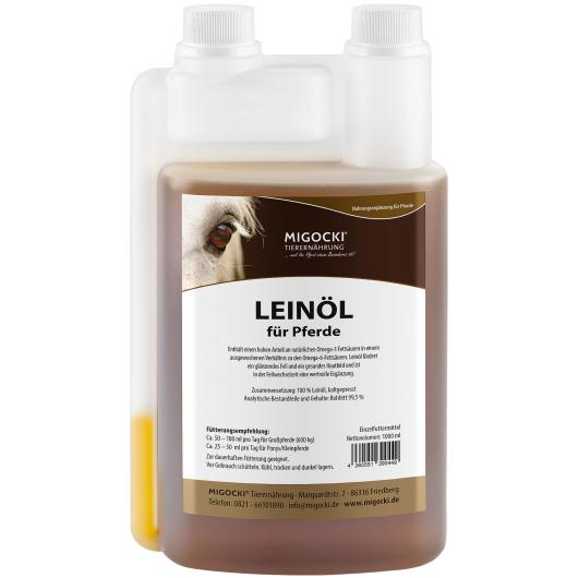 LEINÖL für Pferde 1000 ml