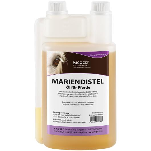 MARIENDISTELÖL für Pferde 1000 ml