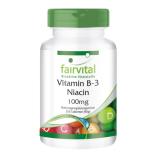 Vitamin B3 Niacin 100 mg - 250 Tabletten für Sie und...