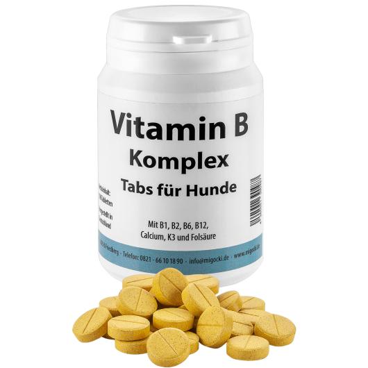 Vitamin B-KOMPLEX für Hunde - Nervensystem (100 Tabletten)