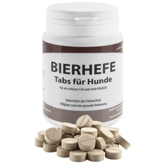 BIERHEFE für Hunde - Fellwechsel und Verdauung (100 Tabletten)