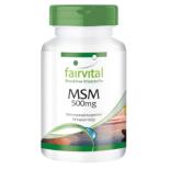 MSM 500 mg - 90 Kapseln für Sie und Ihn