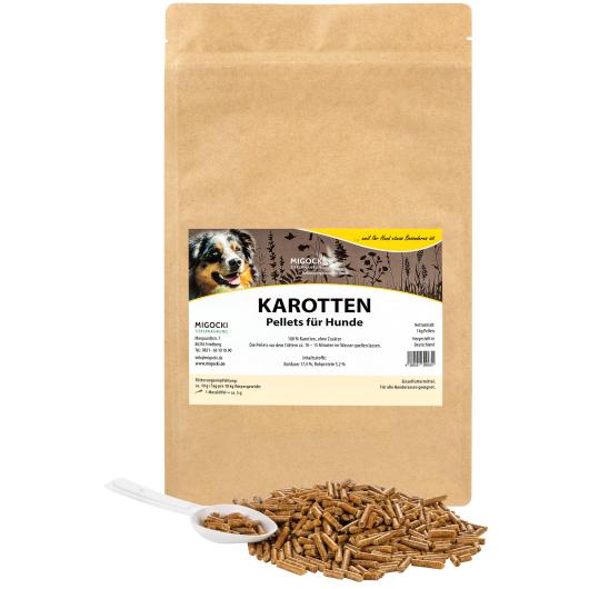KAROTTEN  für Hunde -  BARF Ergänzung  (pelletiert) 1 kg