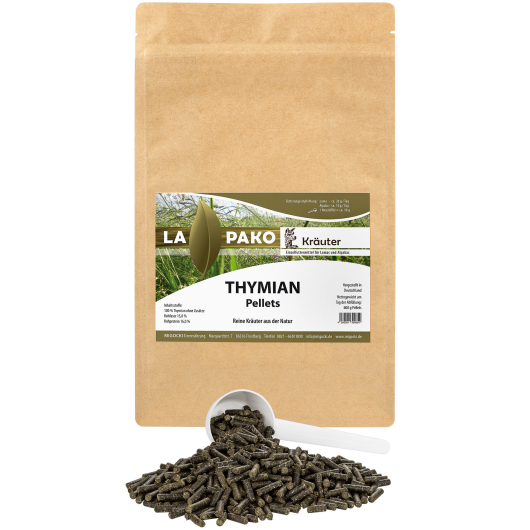 Lapako THYMIAN  für Alpakas/Lamas - Kräuter 600 g