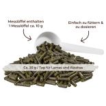 Lapako PFEFFERMINZE  für Alpakas/Lamas - Kräuter 600 g