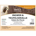 INGWER & TEUFELSKRALLE für Pferde - Kräuter Gelenke