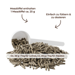 Lapako PRO MINERAL - Mineralfutter für Alpakas und Lamas 10 kg Eimer