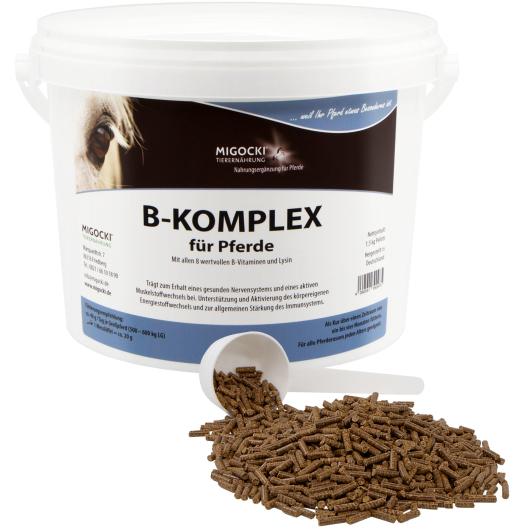 B-KOMPLEX für Pferde - Nerven, Haut & Muskulatur (pelletiert)