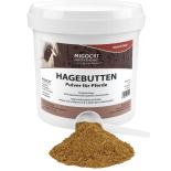 HAGEBUTTEN (gemahlen)  für Pferde - 1,2 kg / Eimer