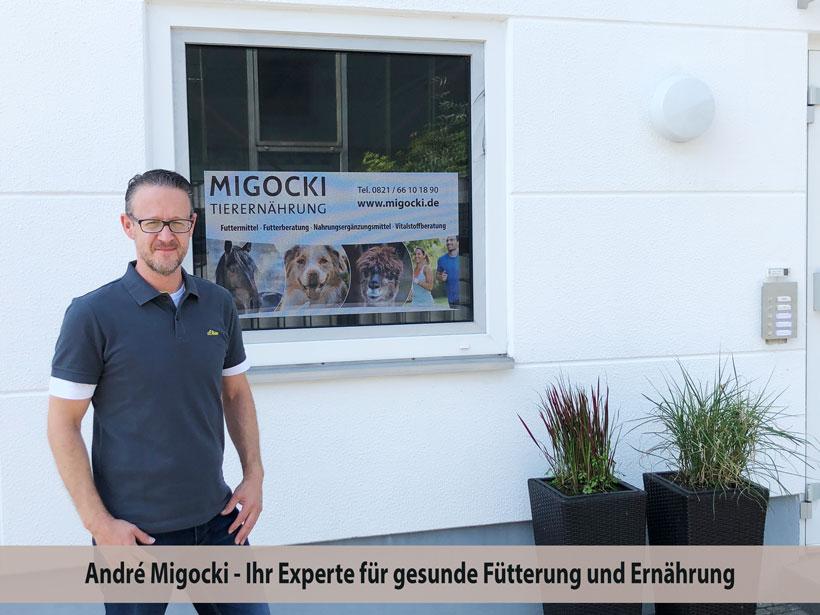 MIGOCKI Futtermittel Tiernahrung Standort Friedberg Bayern